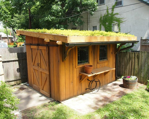Small Traditional Detached Garden Shed Idea In Louisville