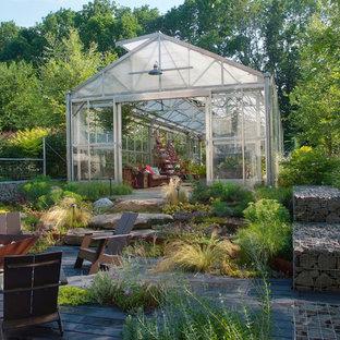 Industrial greenhouse in Philadelphia.