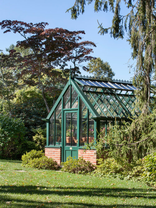 home greenhouse design. traditional detached greenhouse idea in other home design