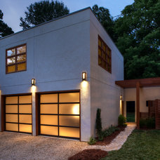 Modern Garage And Shed Gregson Residence