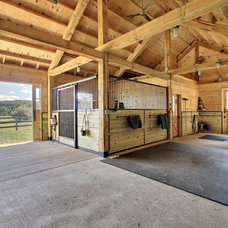 Traditional Garage And Shed by PBE Builders