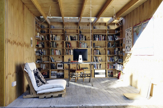 Eclectic Garage And Shed by Office Sian Architecture & Design