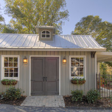 Traditional Garage And Shed by Hefferlin & Kronenberg Architects