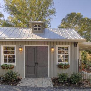 Idéer för att renovera en vintage garage och förråd