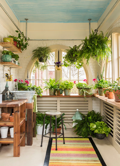 Country Garden Shed and Building by Kathryn J. LeMaster Art & Design