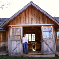 Traditional Garage And Shed by Prairie Design Build Inc