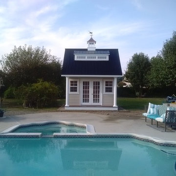 Heritage Pool House Project for Carey
