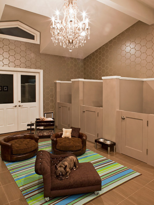Dog room home design ideas pictures remodel and decor for Dog kennel in garage ideas