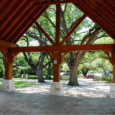 Traditional Garage And Shed by Original Landscape Concepts Inc