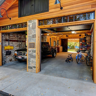 Inspiration for an arts and crafts shed and granny flat in Boise.
