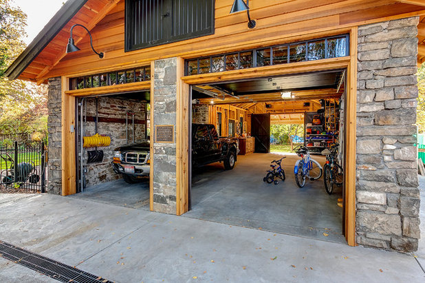 A Historic Garage Expands For Storage And Parties