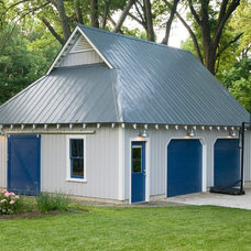 Traditional Garage And Shed by BLOK Architecture, PLLC