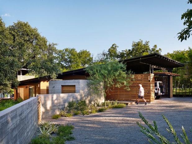 Contemporary Förråd by Lake Flato Architects