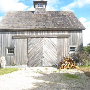 Design ideas for a large country detached barn in Boston.