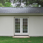 Homey Backyard Office Traditional Shed Austin By