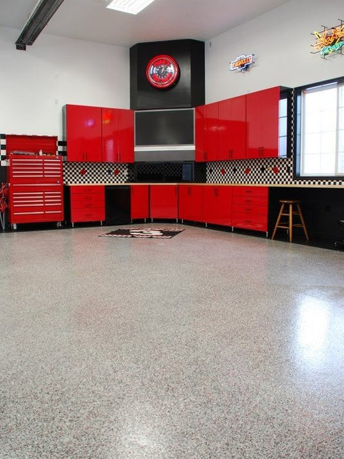 Hot Rod Garage Home Design Ideas, Pictures, Remodel And Decor