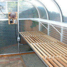 Traditional Garage And Shed by Sunglo Greenhouses
