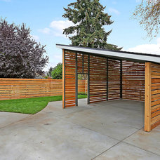 Craftsman Garage And Shed by Green Canopy Homes