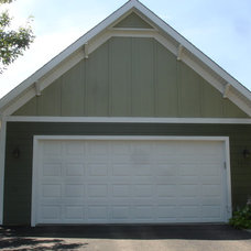 Traditional Garage And Shed by Craftsman's Choice Inc.