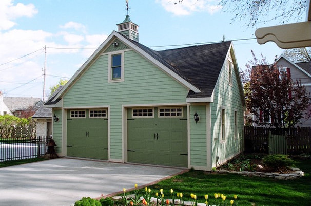 Traditional Garage And Shed by Jeff Hibbard Design Services