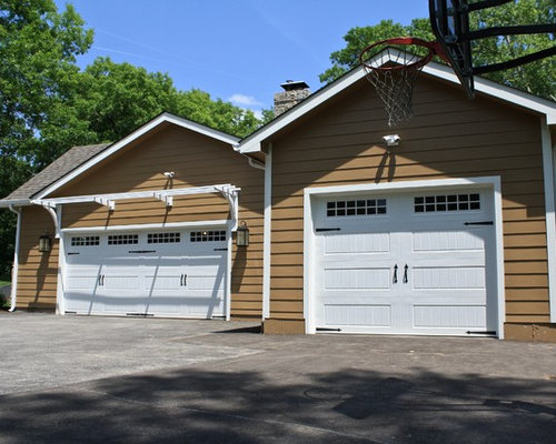 Transitional st louis garage and shed design ideas for Cost to build a garage st louis