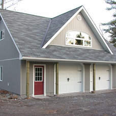 Traditional Garage And Shed by Kawartha Lakes Construction