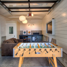 Contemporary Garage And Shed by Treve Johnson Photography