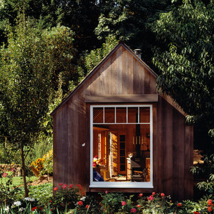 Design ideas for a small country detached granny flat in San Francisco.