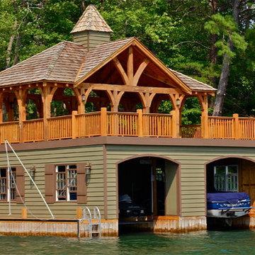 Lake Burton Boat Houses