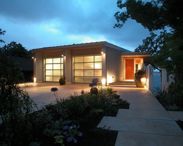 Contemporary Garage And Shed by GMK Architecture Inc
