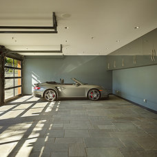 Contemporary Garage And Shed by Gelotte Hommas Architecture