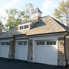 Traditional Garage And Shed by O'Connor Brehm Design-Build