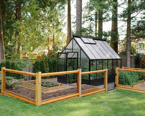 inspiration for a contemporary detached greenhouse remodel in vancouver - Greenhouse Design Ideas