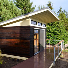 Modern Garage And Shed by J C Stoneman Home Improvement