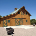 Equestrian Amp Cattle Facility Rustic Shed Denver By