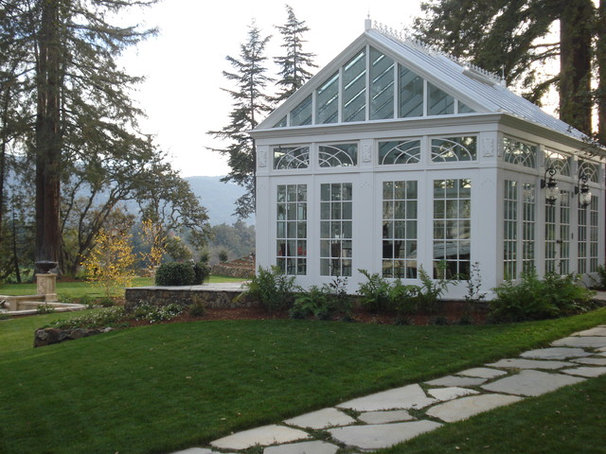 Traditional Sunroom by christopher Lines & Associates