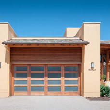 Contemporary Garage And Shed by Conrado - Home Builders
