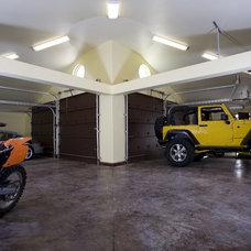 Mediterranean Garage And Shed by Conrado - Home Builders