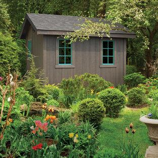 Inspiration pour un abri de jardin nordique.