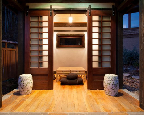 Asian Garage And Shed Ideas & Design Photos