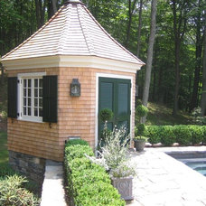 Eclectic Garage And Shed by Landscape Specialties