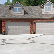 Traditional Garage And Shed by M.J. Whelan Construction