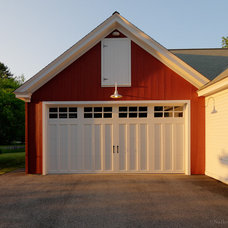 Farmhouse Garage And Shed by Nathan Varney Photography