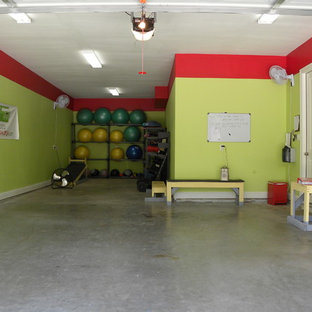 This is an example of a transitional shed and granny flat in Dallas.