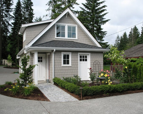 Small garage apartment houzz for Small garage apartment