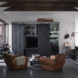 Design ideas for a large industrial detached office/studio/workshop in Nashville.