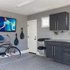 Contemporary Garage And Shed by Storage By Design .ca