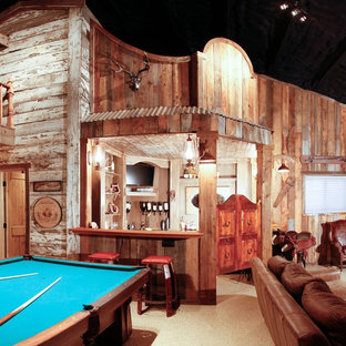 Inspiration for a medium sized rustic detached barn in Denver.