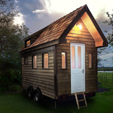 Traditional Garage And Shed by Tiny House UK