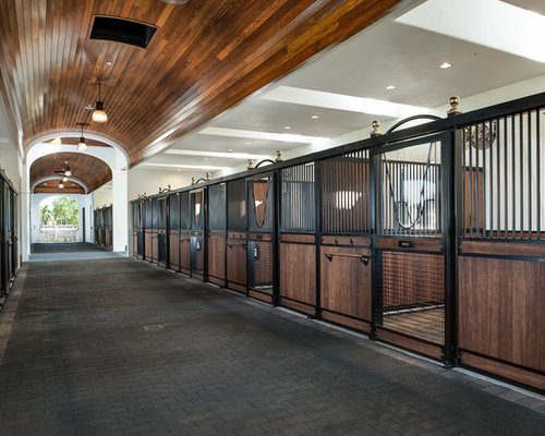 Horse Stall Design Ideas horse barn plans and designs timber frame horse barn interior stalls horse barn design ideas Tuscan Barn Photo In Miami